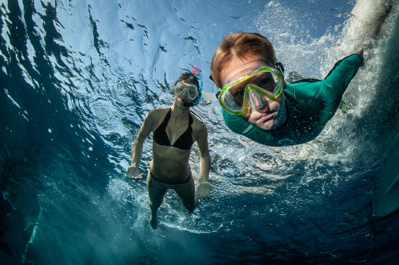 nurkowanie dzieci foto Przemyslaw Zyber 12